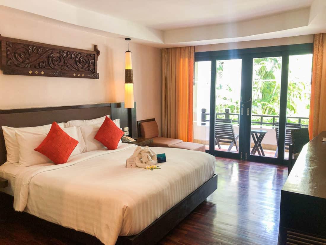 Standard room at Rawi Warin Resort on Koh Lanta