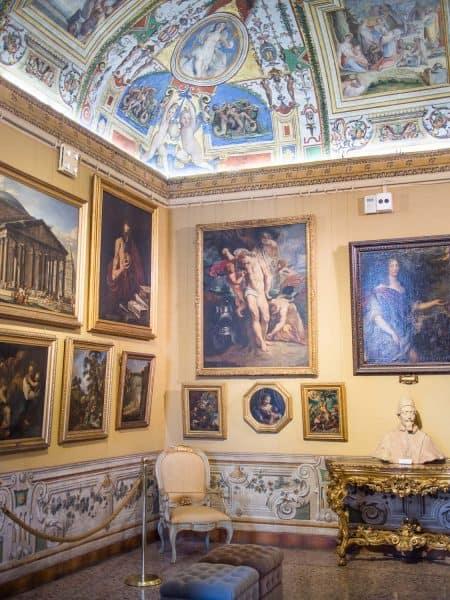 Palazzo Corsini art gallery in the Trastevere neighbourhood of Rome