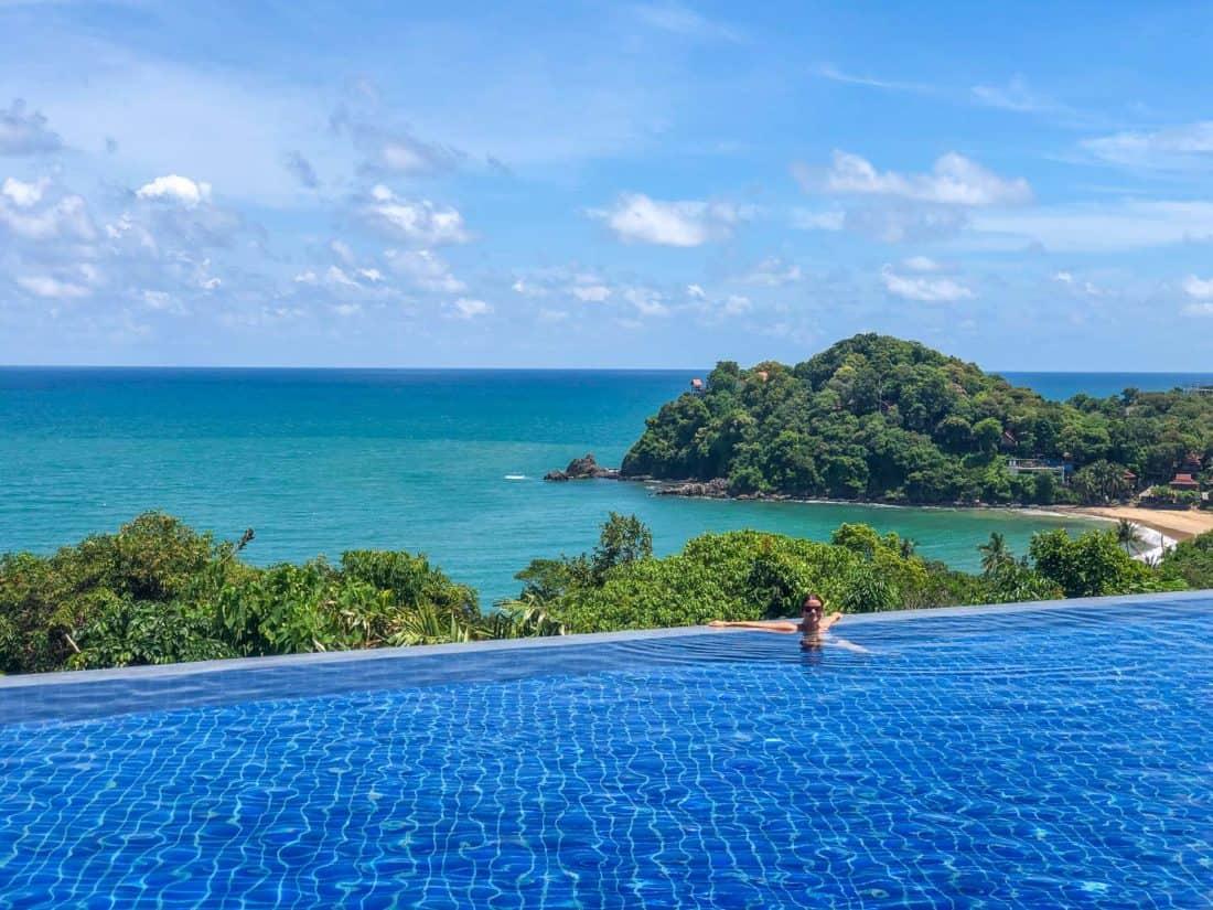 The main pool at Pimalai Resort on Koh Lanta