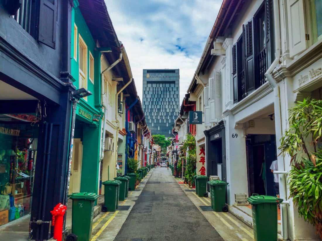 Haji Lane in Singapore