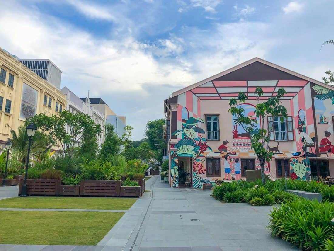 Street art in Armenian Street, Singapore