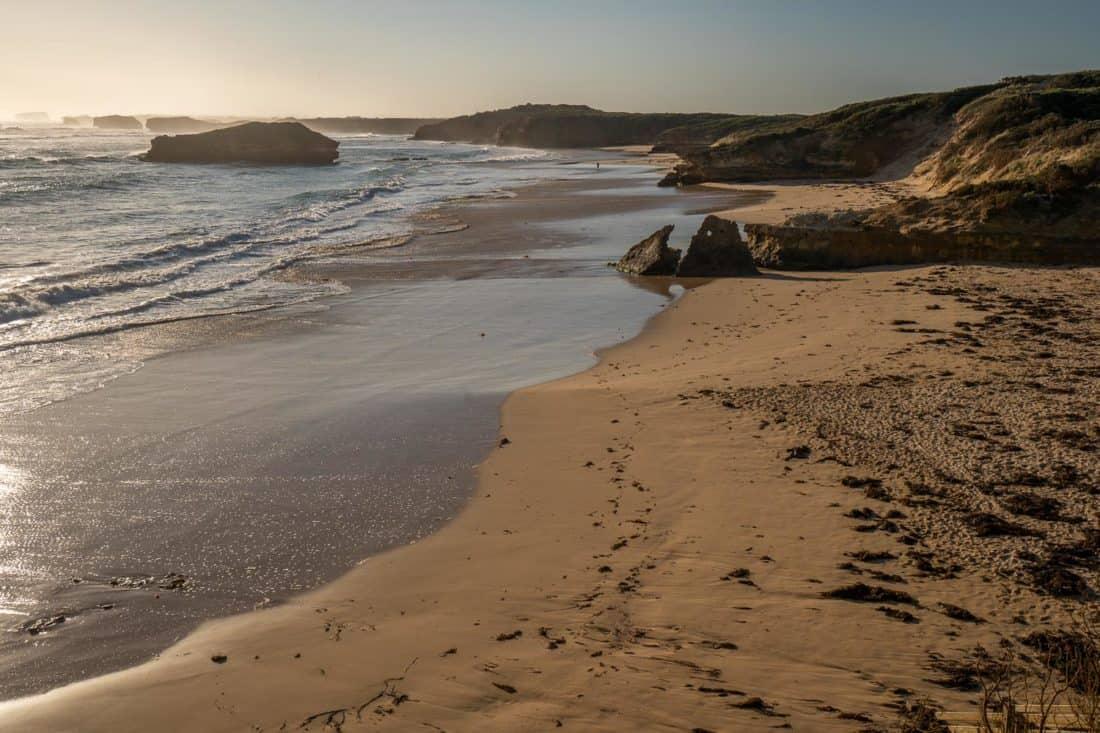Bay of Martyrs beach in Victoria, Australia
