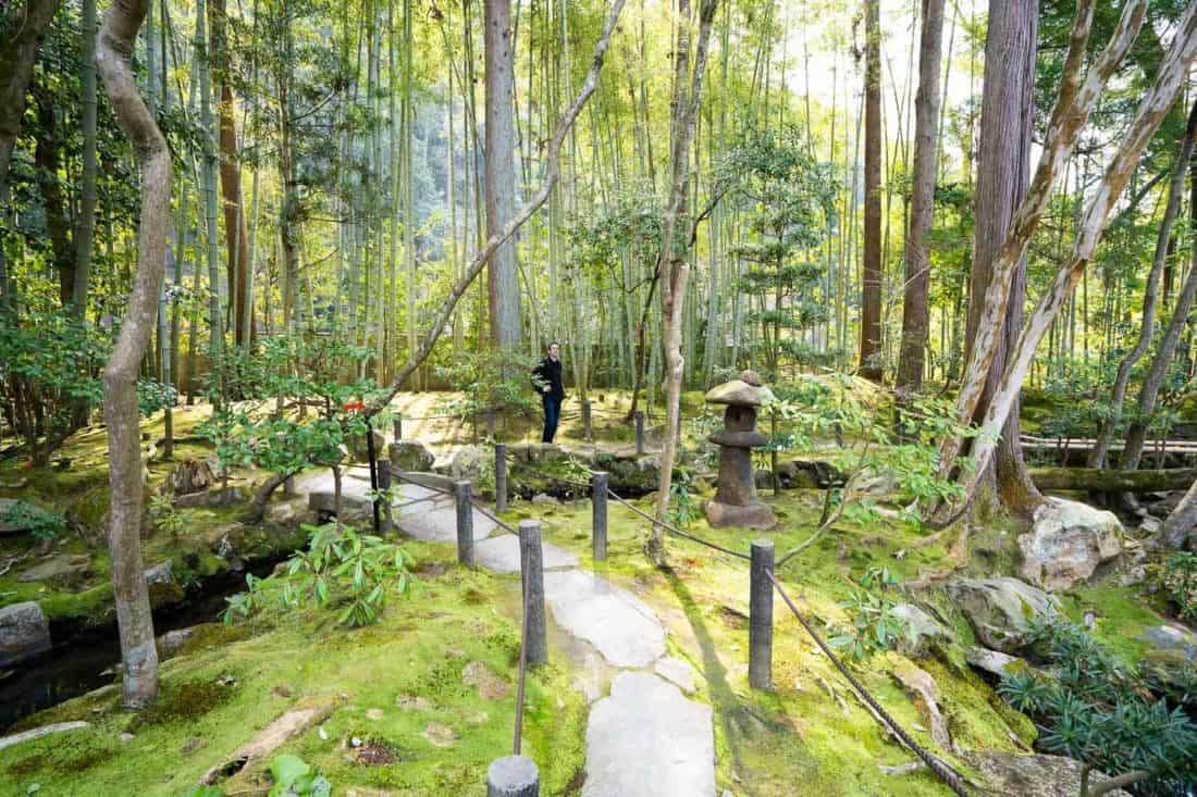The gardens of the subtemple Tenjuan at Nanzenji in Kyoto, Japan