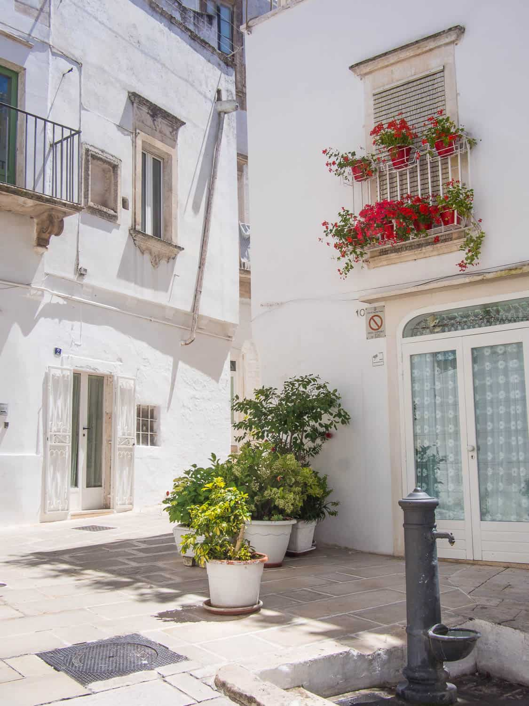 Martina Franca in Puglia, Italy