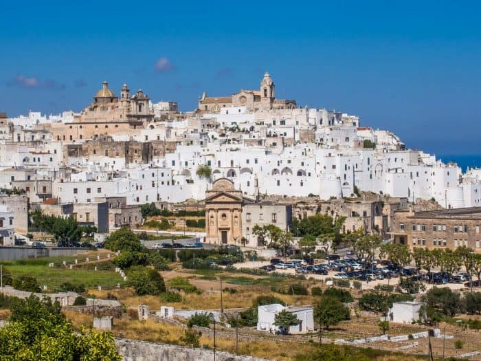 Ostuni, one of the best places to visit in Puglia, Italy