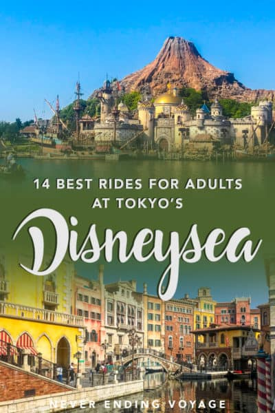 Here are the BEST rides to ride at Tokyo DisneySea if you're an adult! | things to do in tokyo, what to do in tokyo, disney asia