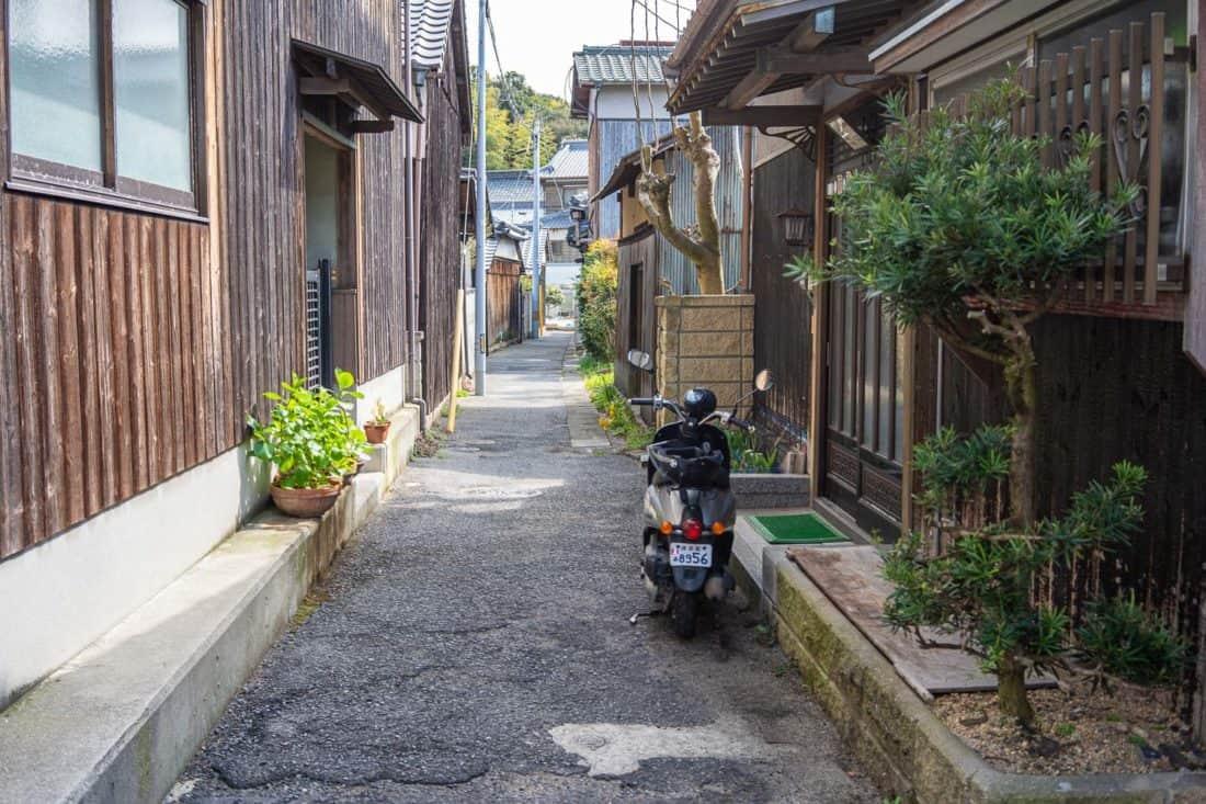 Honmura villa on Naoshima, Japan