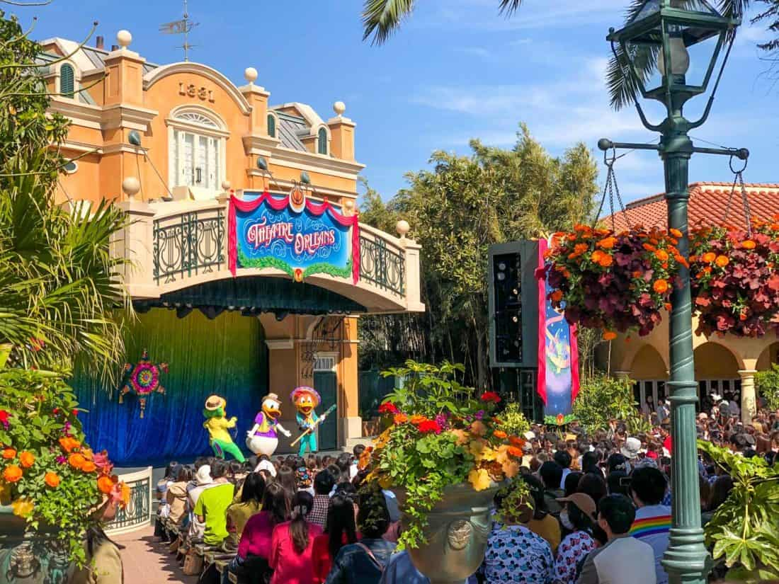 Let's Party Gras, the best show at Tokyo Disneyland