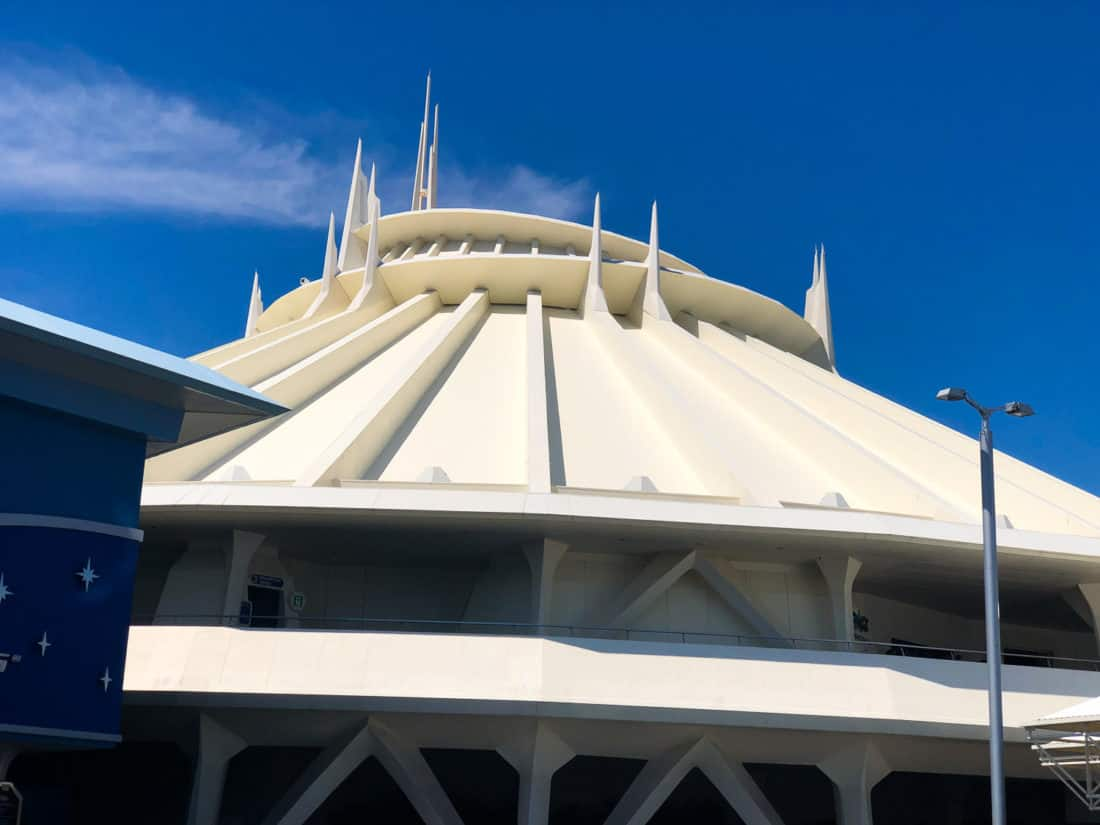 Space Mountain, one of the best Tokyo Disneyland rides