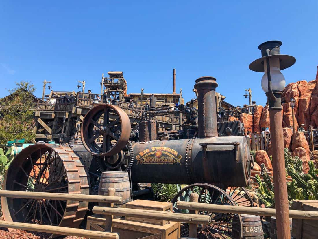 Big Thunder Mountain, a top Tokyo Disneyland attraction