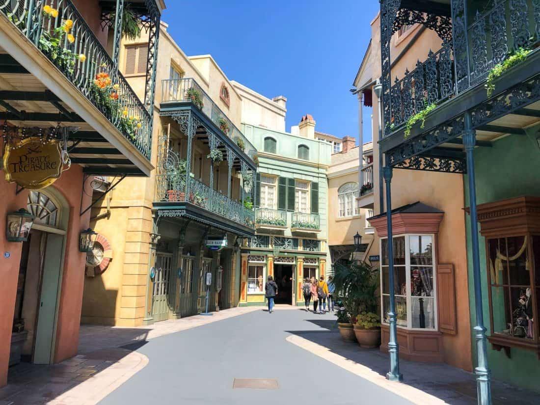 New Orleans Square in Tokyo Disneyland Adventureland