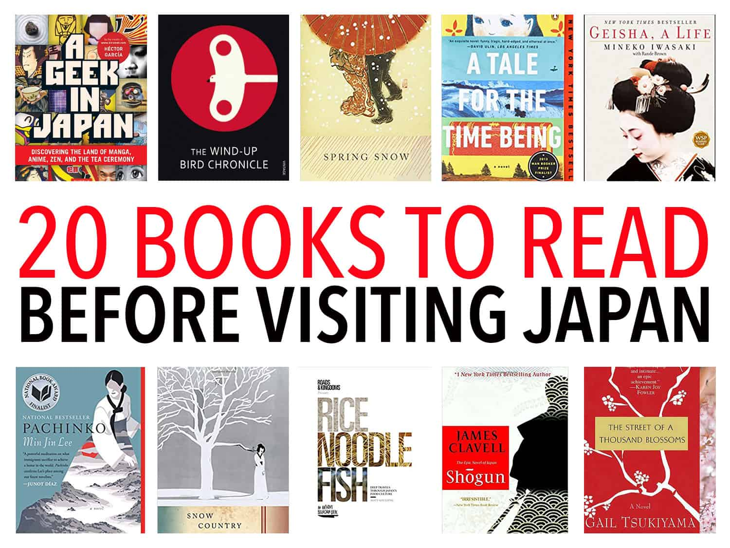 20 books about Japan to read before you visit