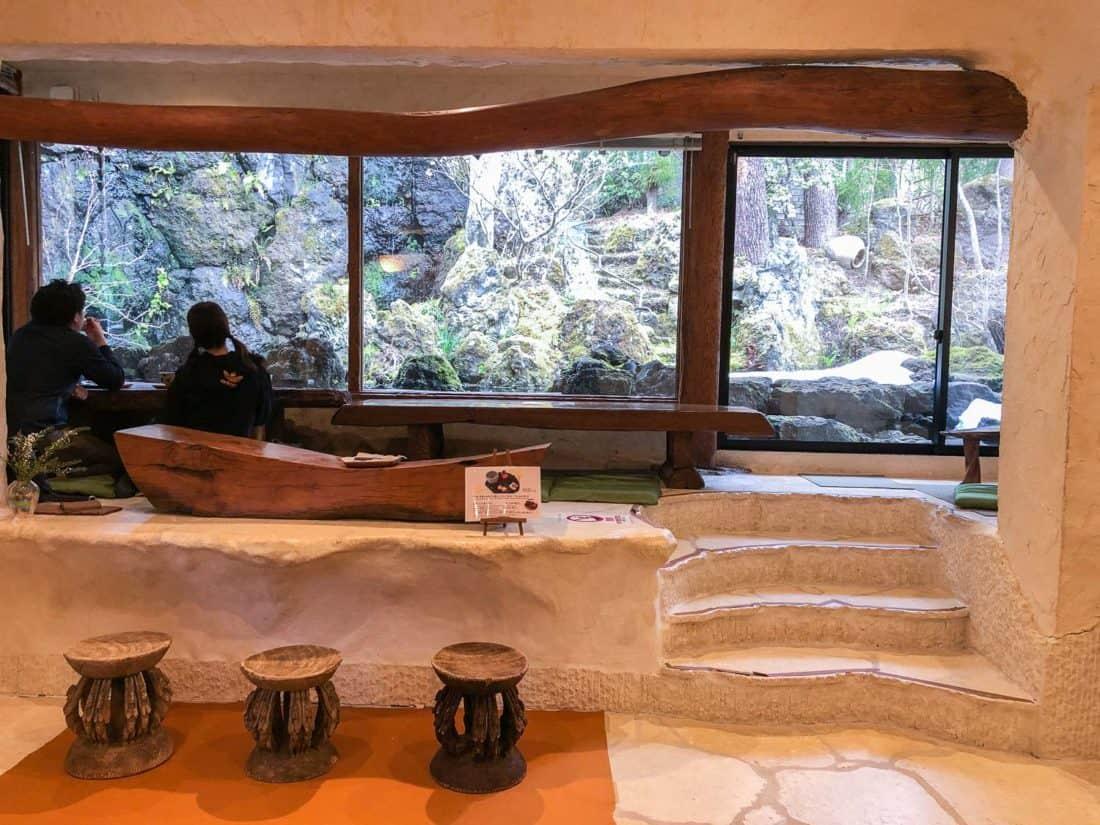 Itchiku-an tea room at Itchiku Kubota Art Museum, one of the best things to do in Kawaguchiko