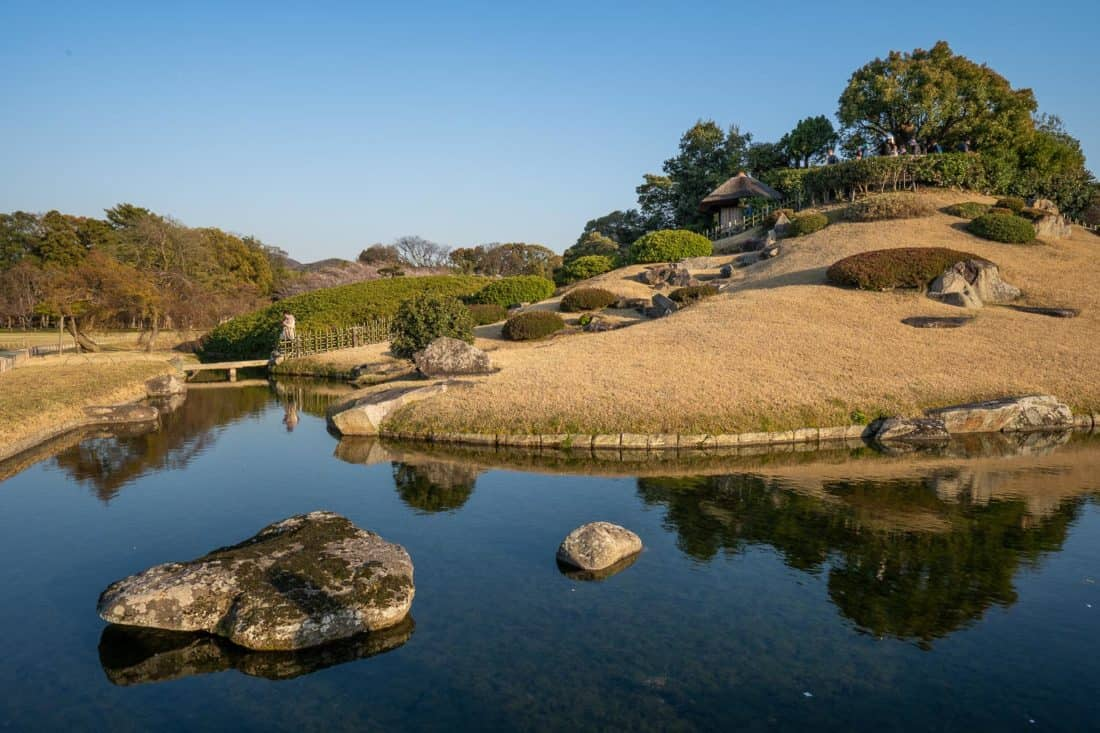 Korakuen Garden is one of the top things to do in Okayama Japan