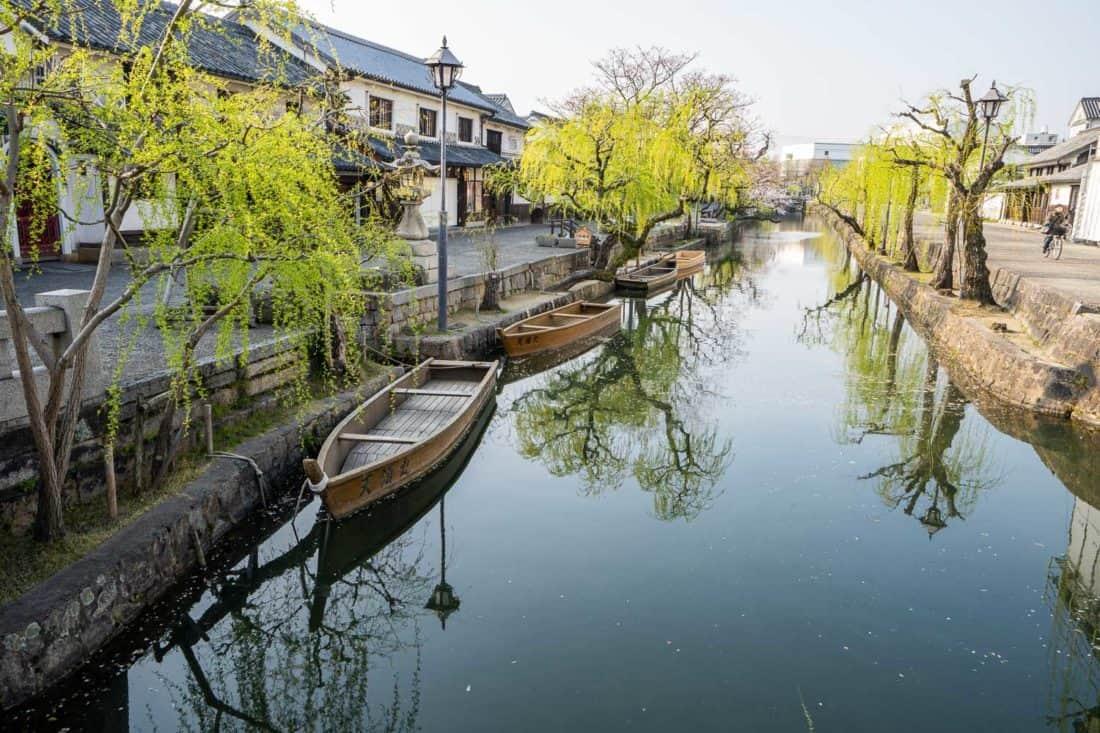 Kurashiki canal - a great day trip from Okayama