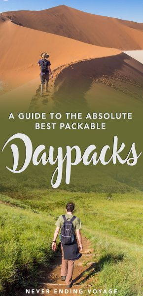 What's the best packable daypack for travel? See all our comparisons in this guide!