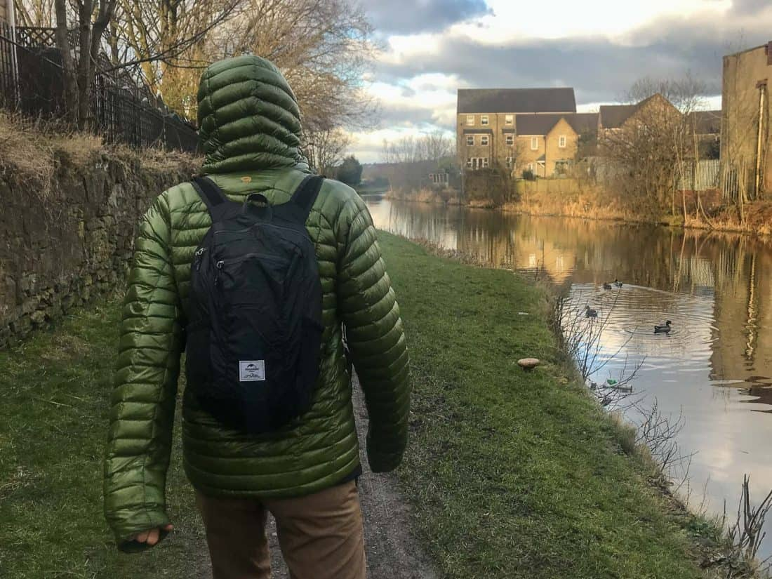 Review of the Naturehike foldable backpack