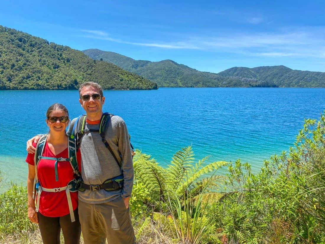 Day 2 of the Queen Charlotte Track