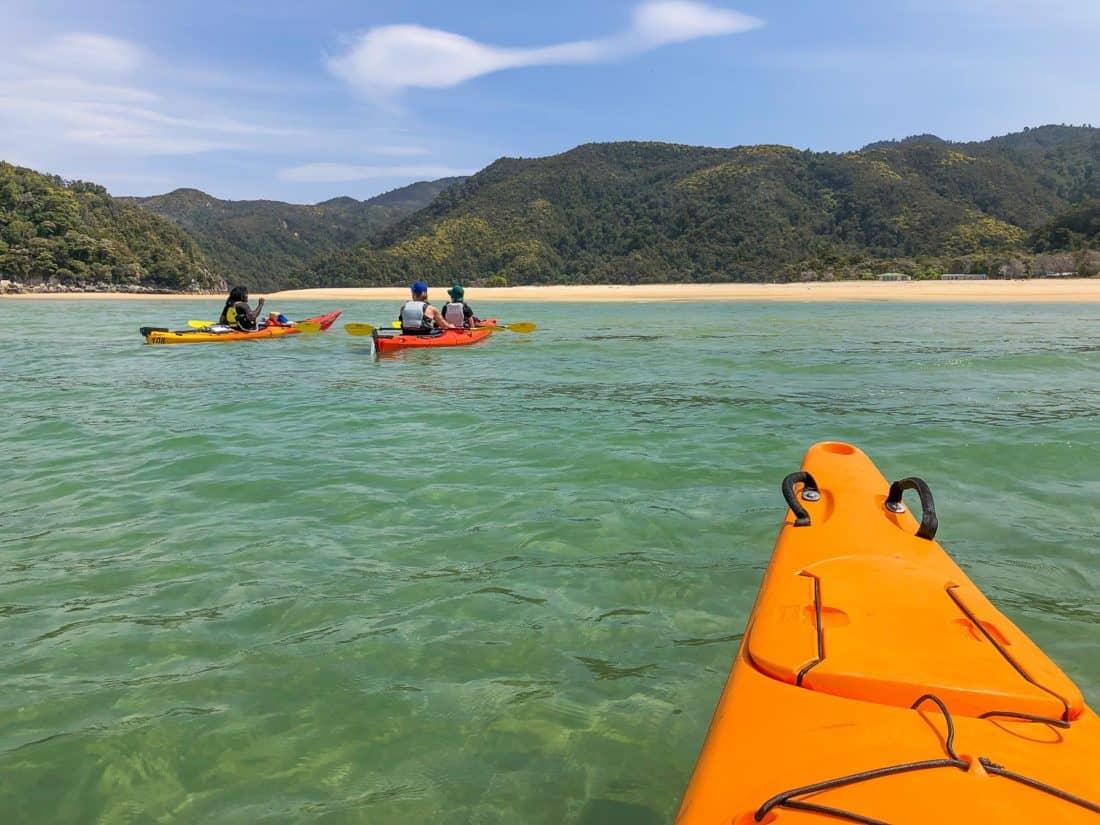 Kayaking to Torrent Bay in Abel Tasman National Park