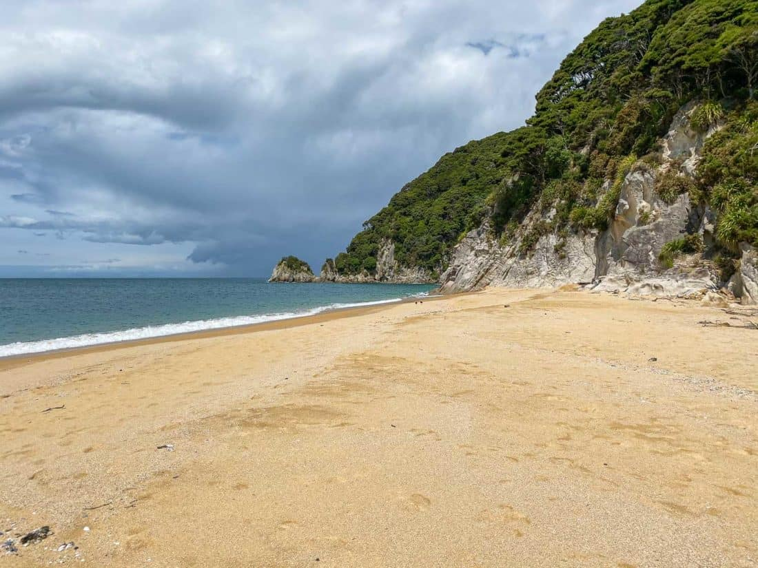 Mutton Cove is a great day walk on the Abel Tasman coast track