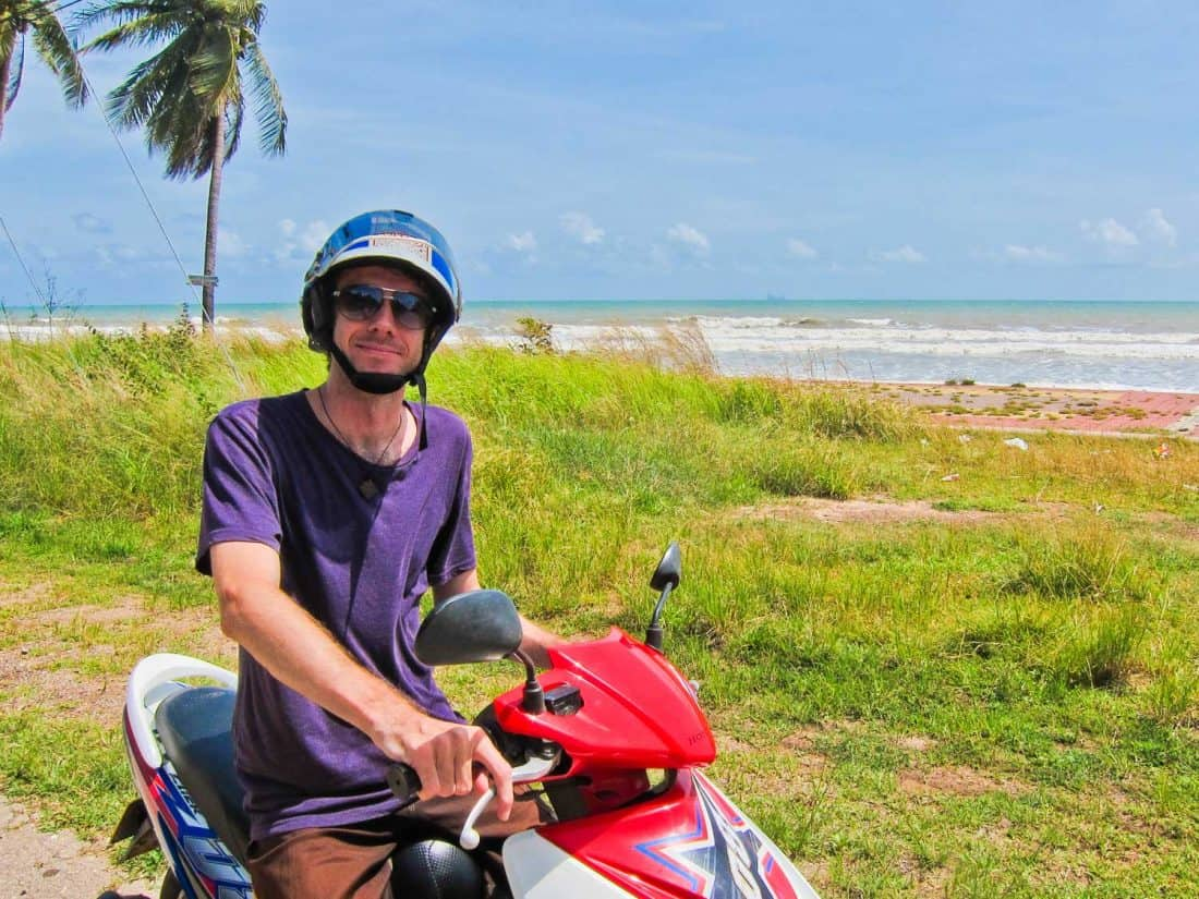 Hiring a scooter is one of the best things to do in Koh Lanta, Thailand