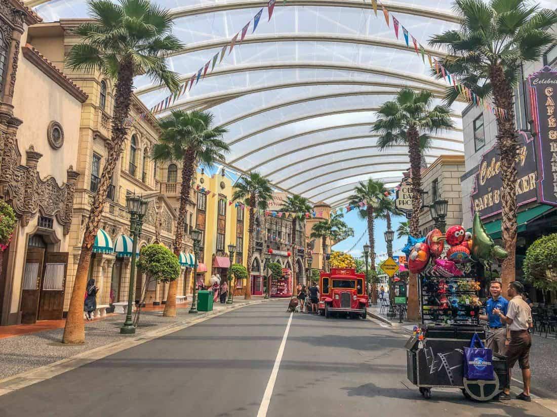 Main Street at Universal Studios Singapore