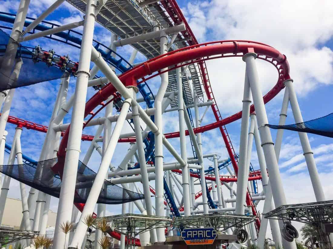 Battlestar Galactica roller coaster, the best Universal Studios Singapore ride