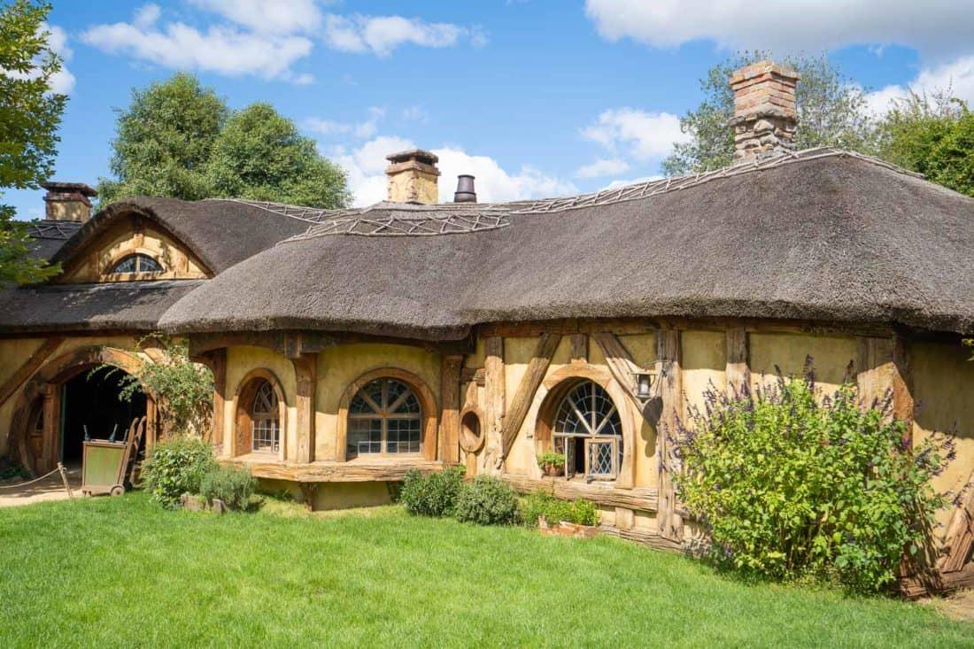 The Green Dragon Inn in Hobbiton village, New Zealand
