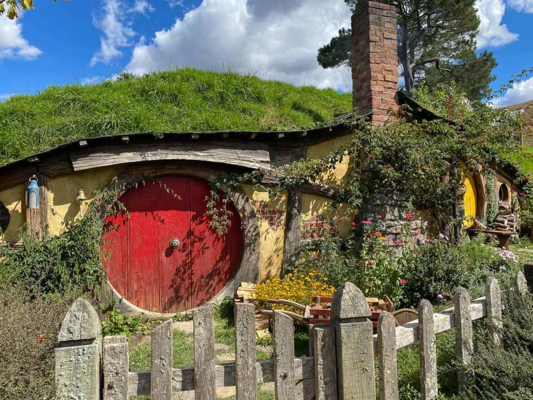 Bagshot Row in Hobbiton Movie Set, New Zealand