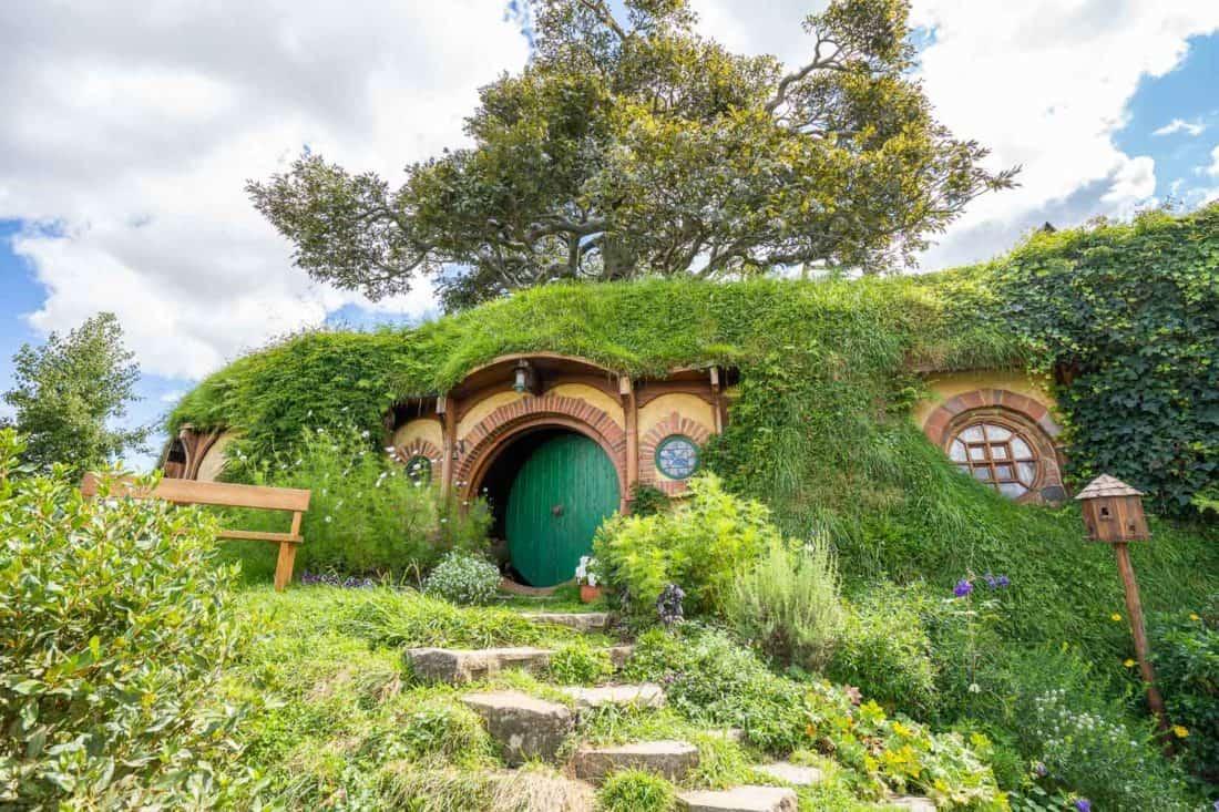 Bag End, Bilbo Baggin's home in Hobbiton