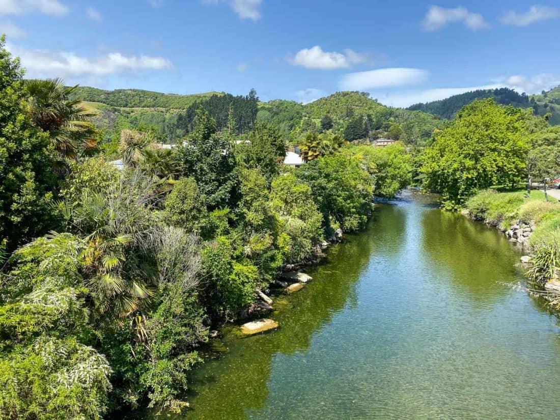 Maitai River in Nelson New Zealand