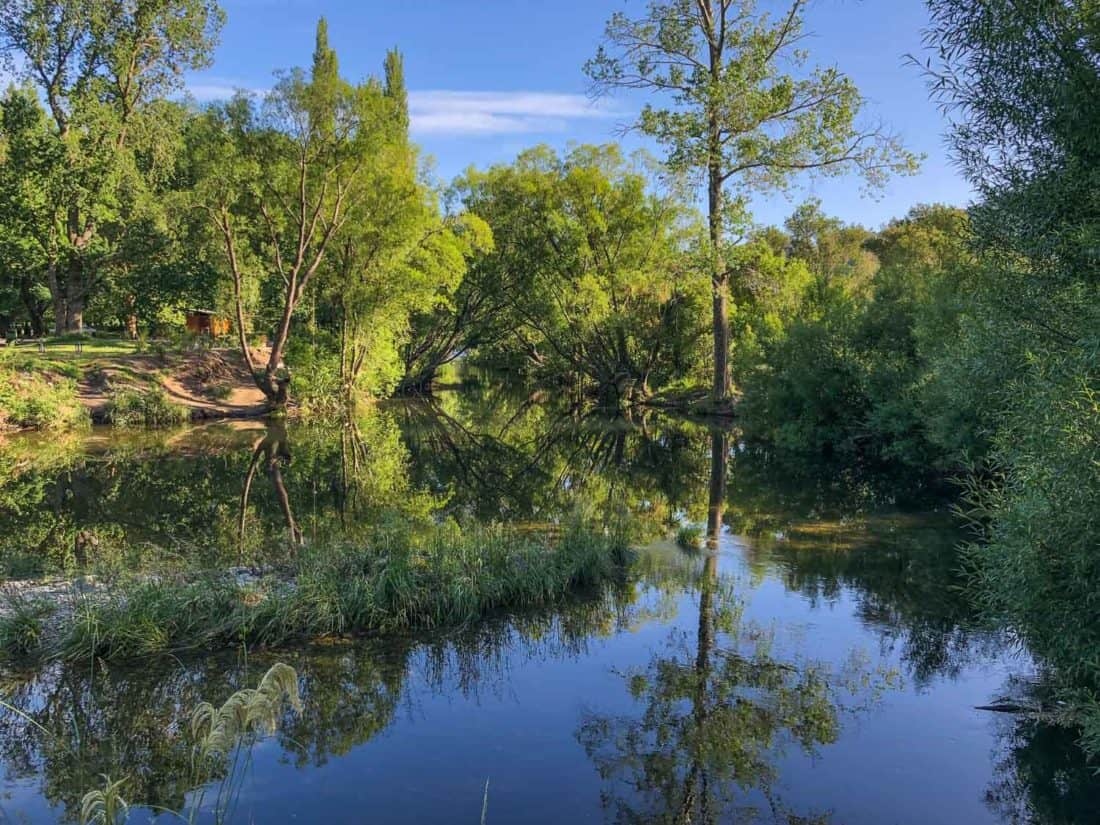 Walking along the Maitai River is one of the best things to do in Nelson New Zealand