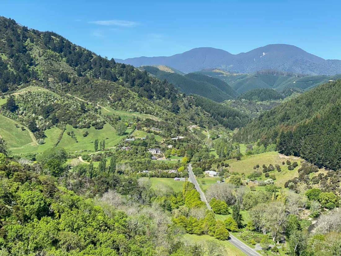 The hills surrounding Nelson