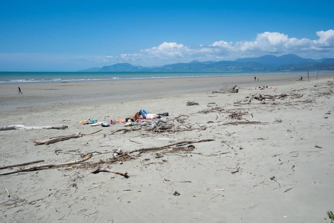 The beach on Rabbit Island near Nelson NZ