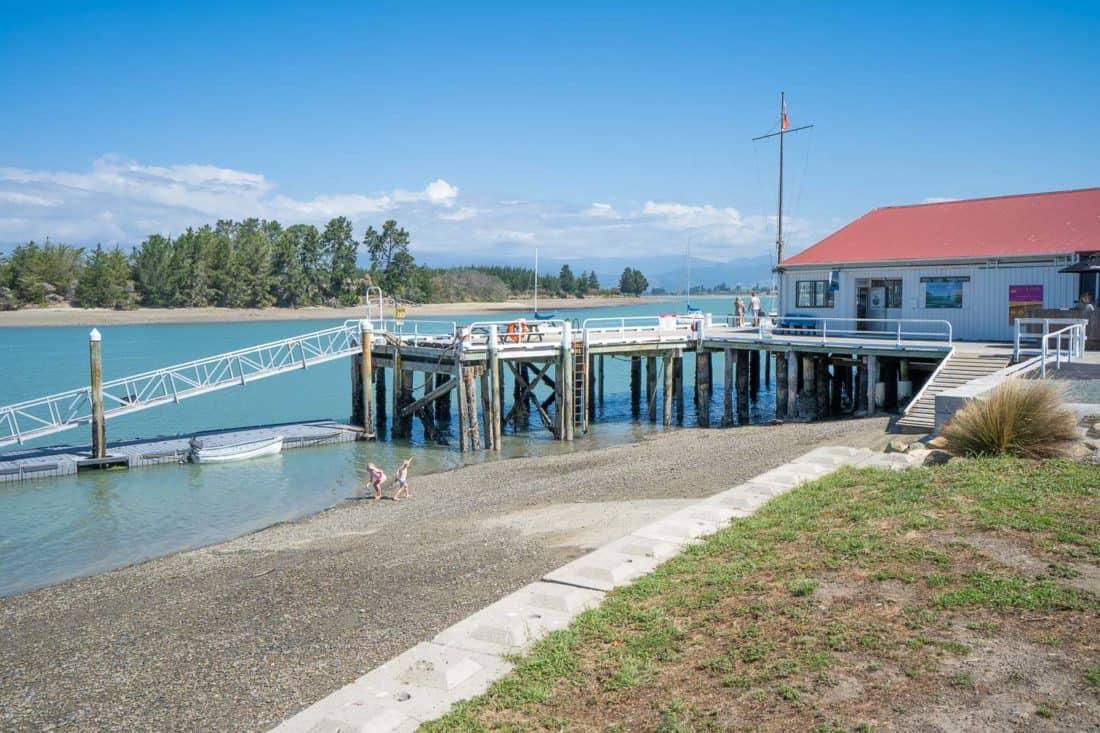 Mapua Wharf near Nelson NZ