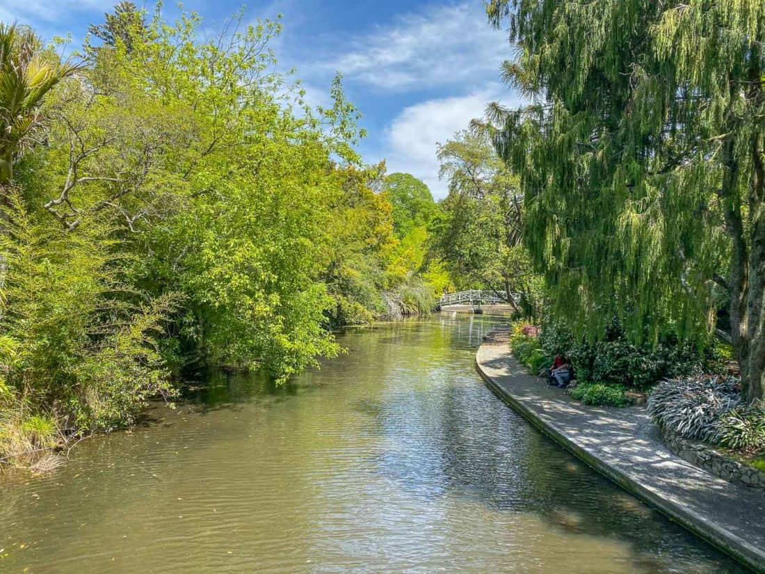 The river in Queens Gardens, one of the best Nelson tourist attractions