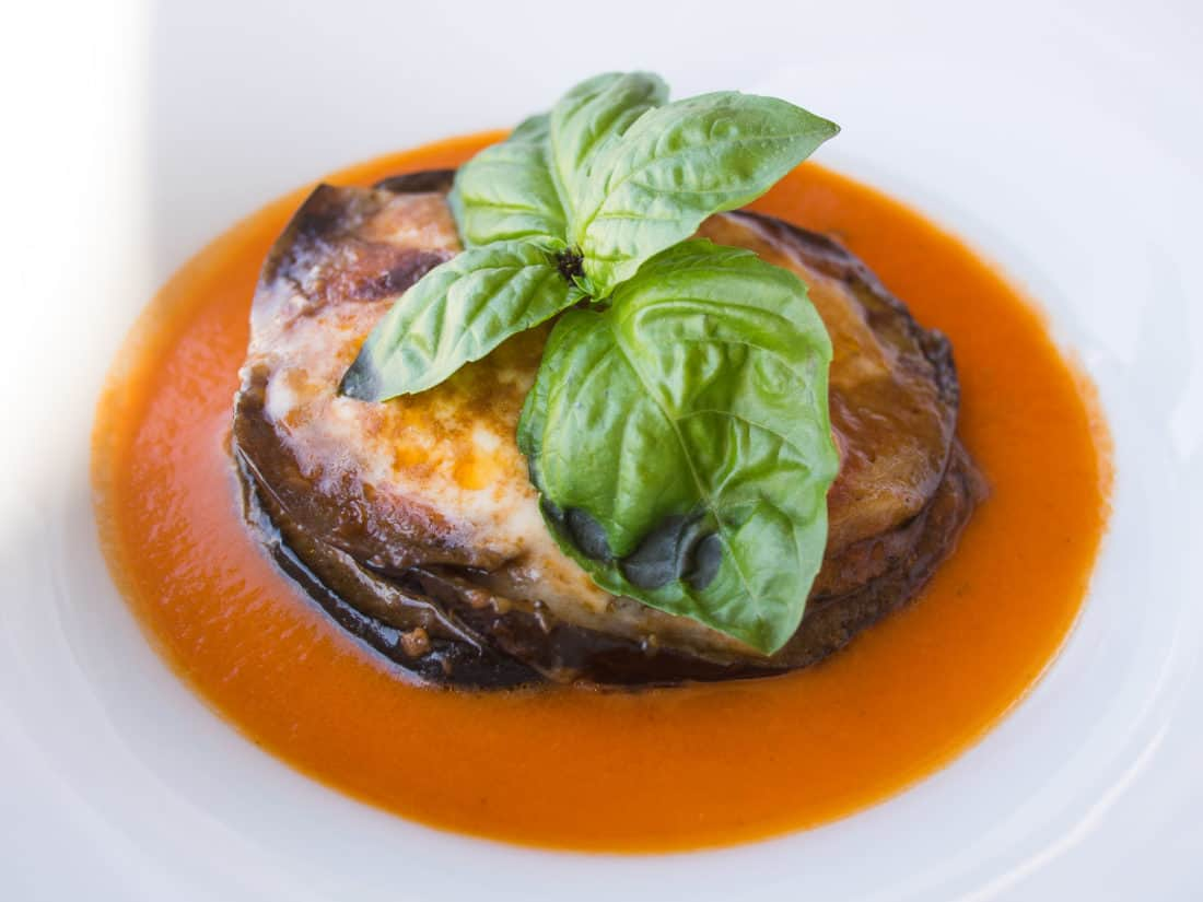 Parmigiana di Melanzana, one of the best foods in Italy