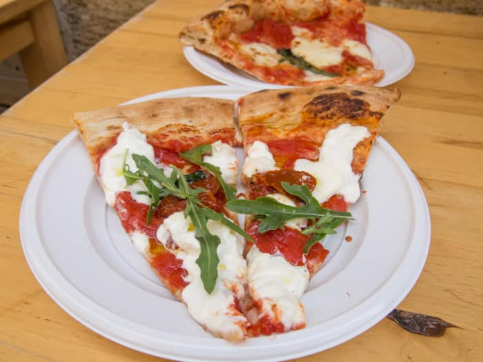 Best food in Italy - Pizza slices at Pizza & Co in Lecce, Puglia