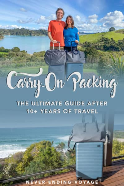 All the best carry on packing tips and a carry on packing list after 10+ years of travel! | carry on packing list airplane, carry on packing hacks, carry on packing list one suitcase, carry on packing travel essentials list