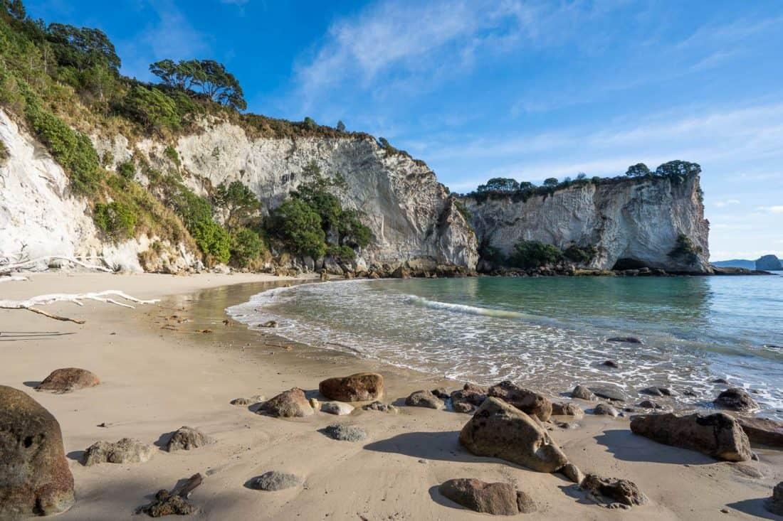 Stingray Bay near Cathedral Cove, New Zealand