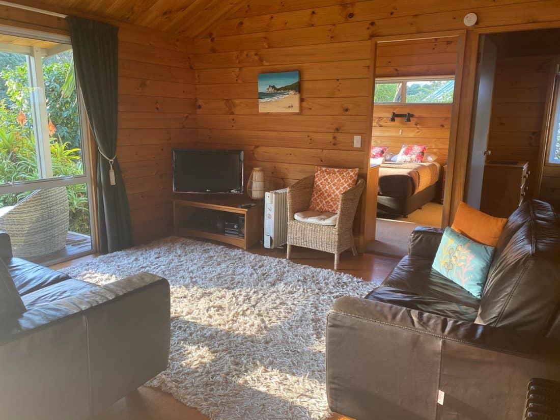 Two bedroom cottage at Tatahi Lodge, Hahei