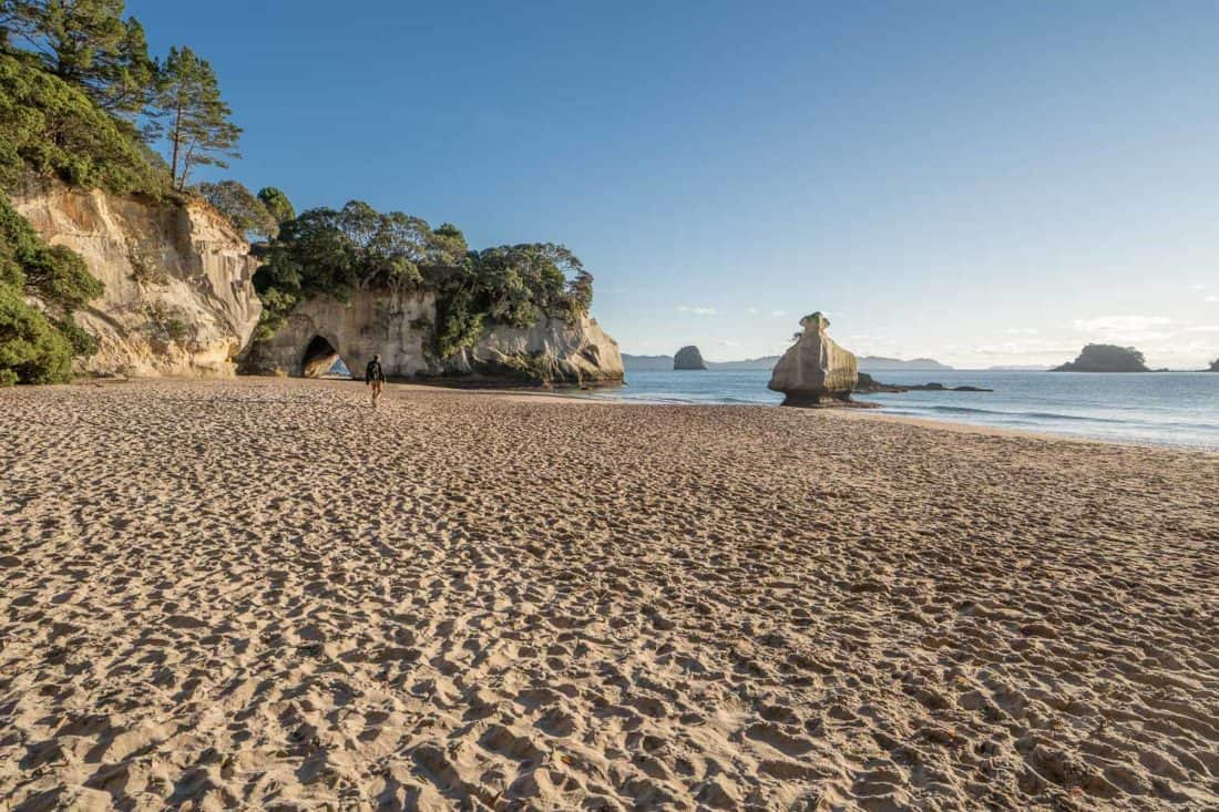 Mares Leg Cove looking towards Cathedral Cove
