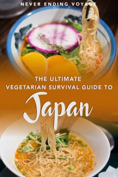 Here's all you need to know about vegetarian food in Japan
