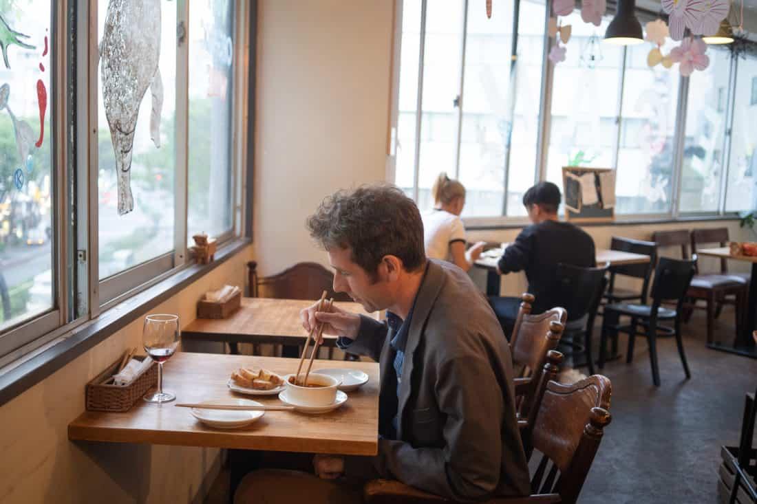 Slow Food and Wine KiboKo vegan bar in Tokyo