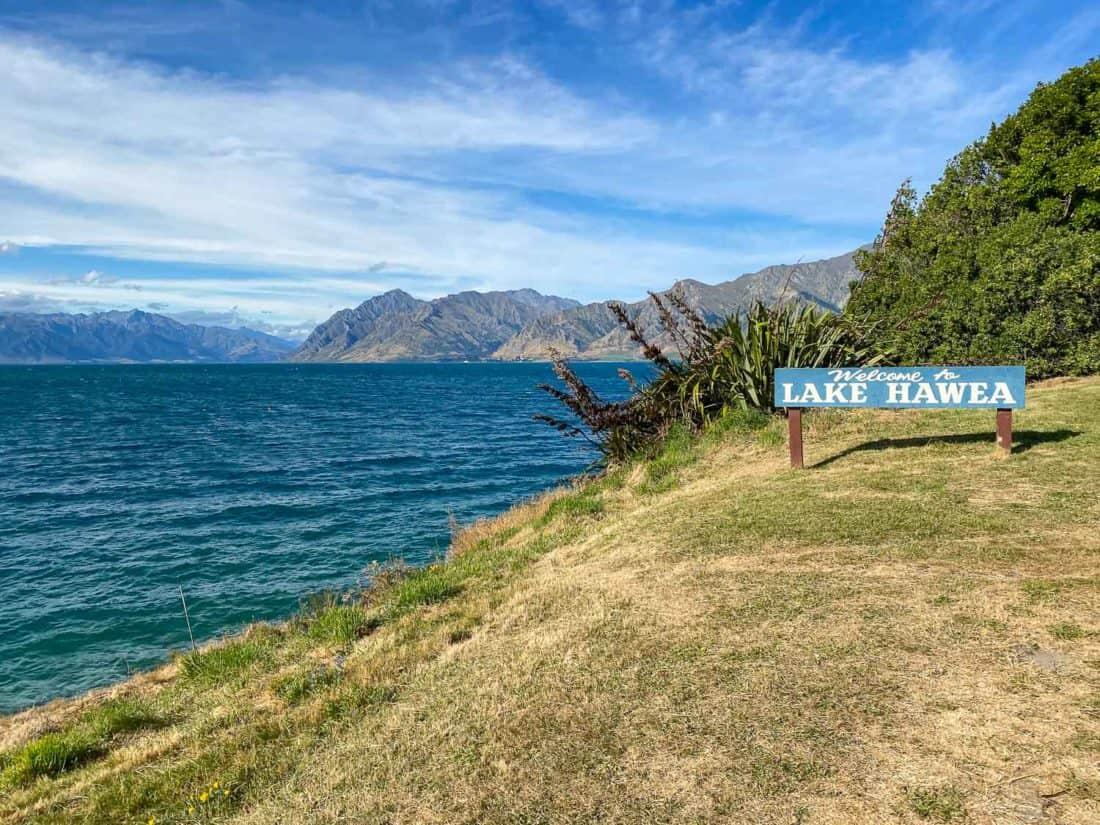 Lake Hawea, New Zealand