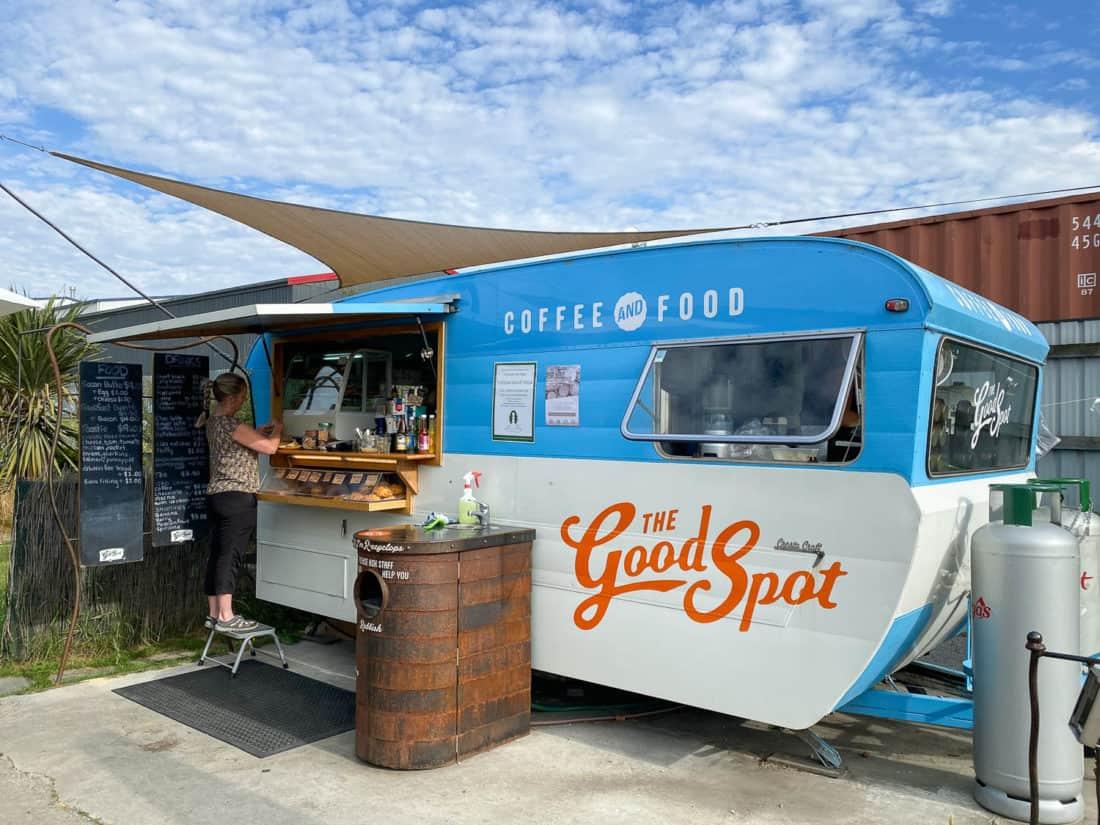 The Good Spot coffee cart in Wanaka