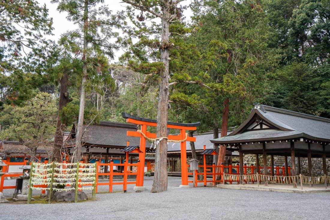 Yoshida Shrine, a quiet Kyoto temple on Yoshida Hill