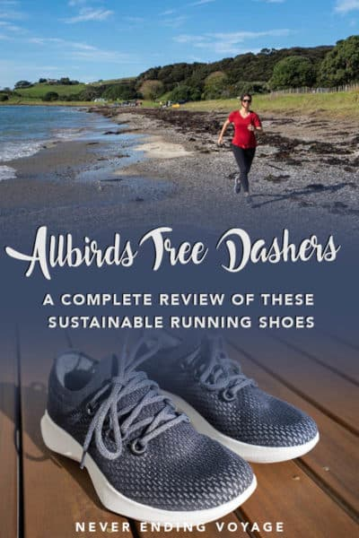Are the Allbirds tree dasher shoes the best sustainable running shoes for travel? | allbirds review, sustainable sneakers, ethical fashion, travel shoes