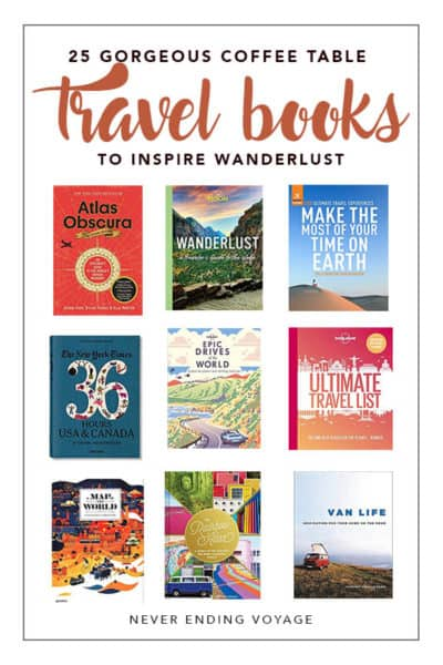 All the best coffee table books to inspire you to travel! | book gifts, gift ideas, travel gift ideas
