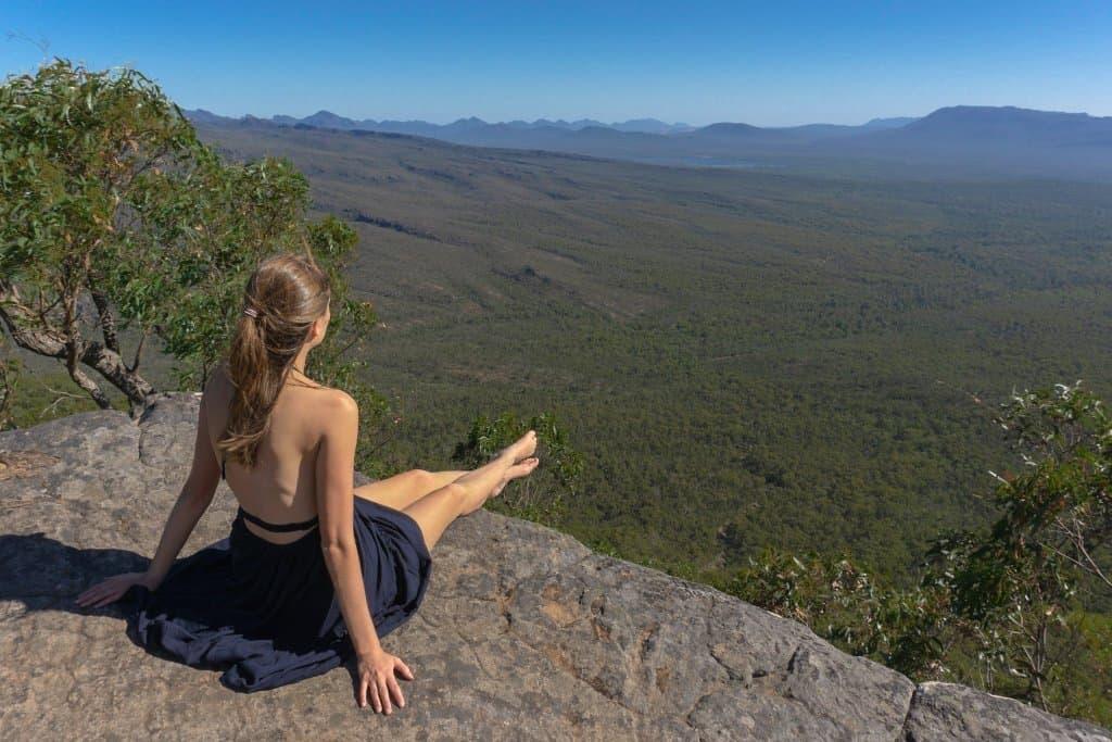 Baroka Lookout in The Grampians, Victoria, Australia